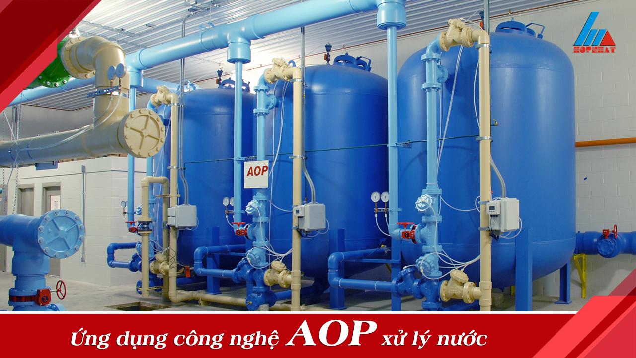 Ứng dụng công nghệ AOP xử lý nước