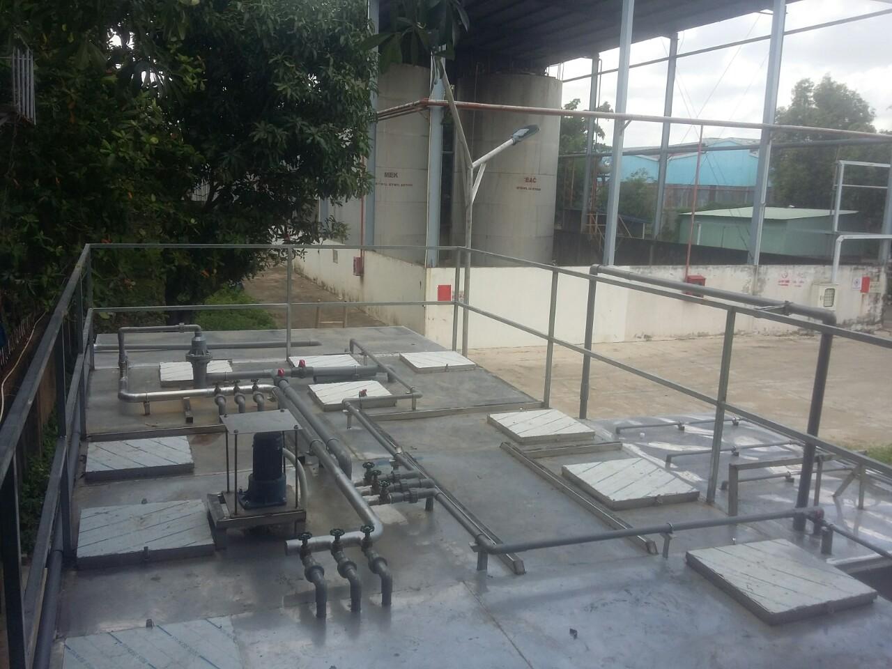 Xử lý nước thải sản nhà máy Haw Pao Bình Dương