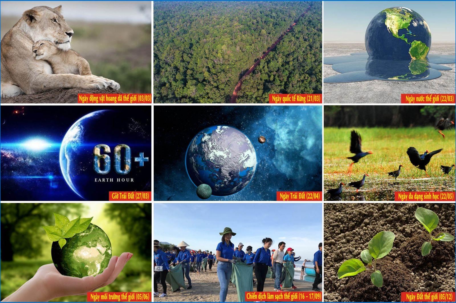 9 sự kiện môi trường sẽ diễn ra năm 2021