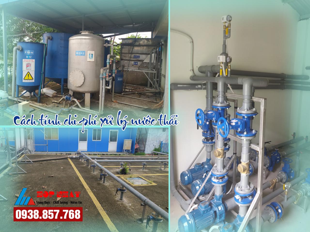 Cách tính chi phí xử lý nước thải