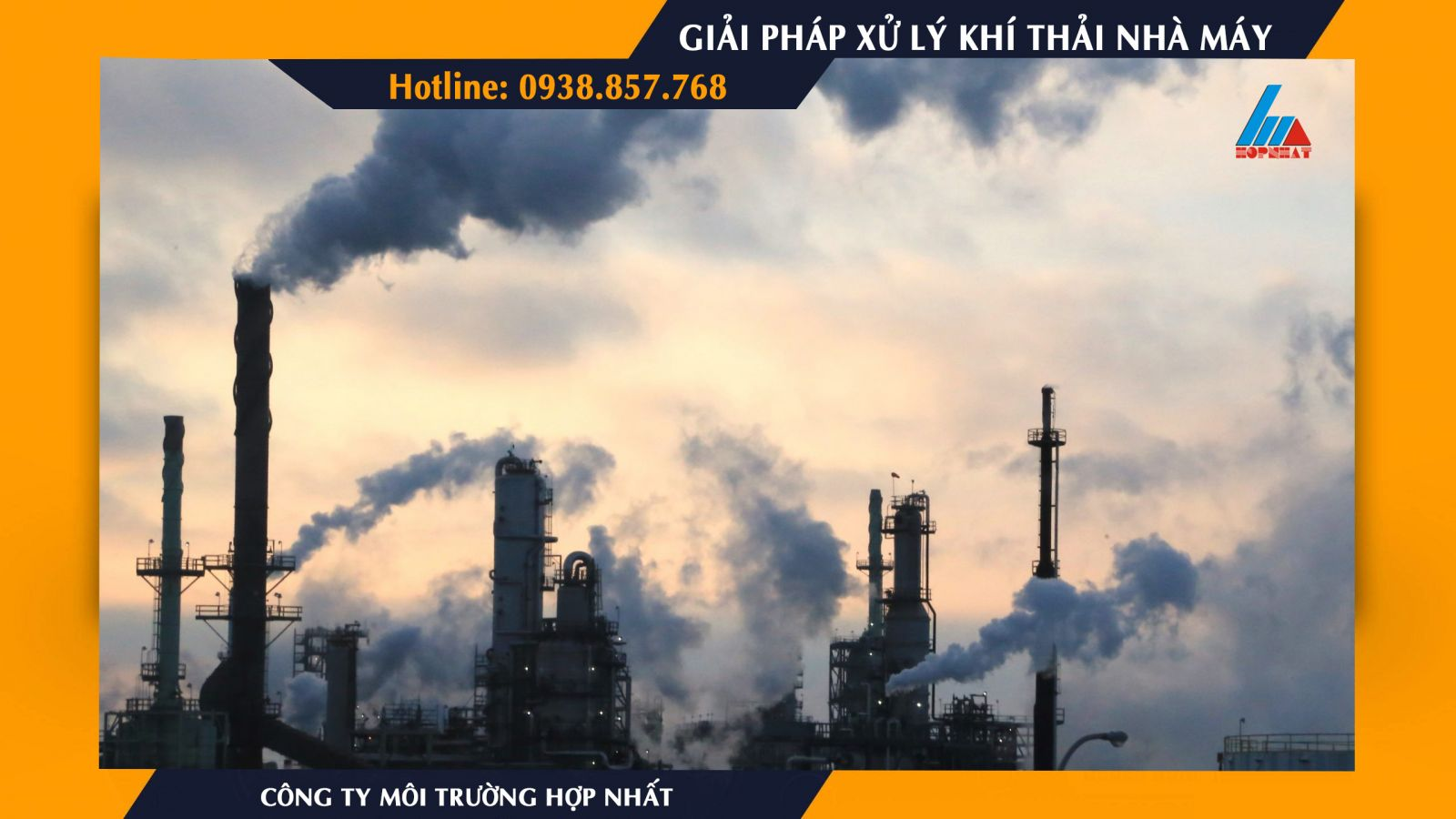 Có bao nhiêu cách xử lý khí thải nhà máy?