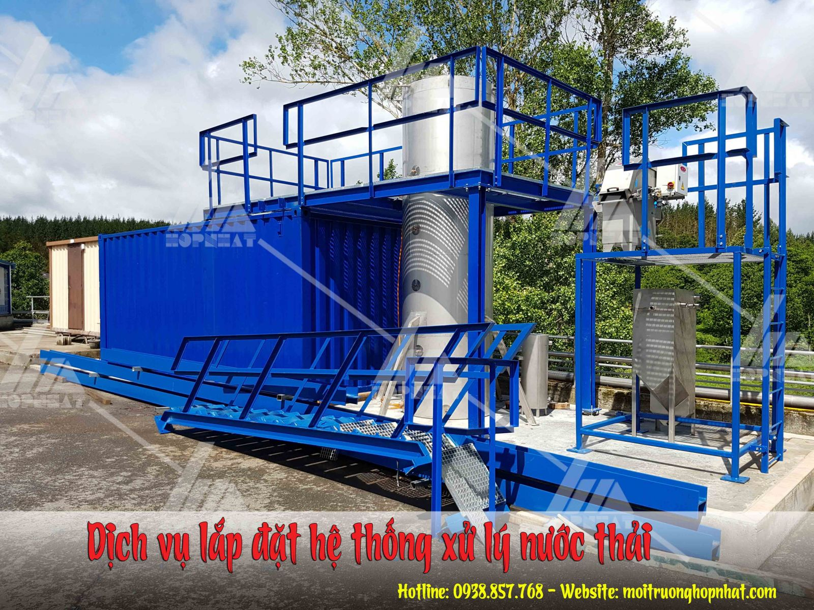 Dịch vụ lắp đặt hệ thống xử lý nước thải