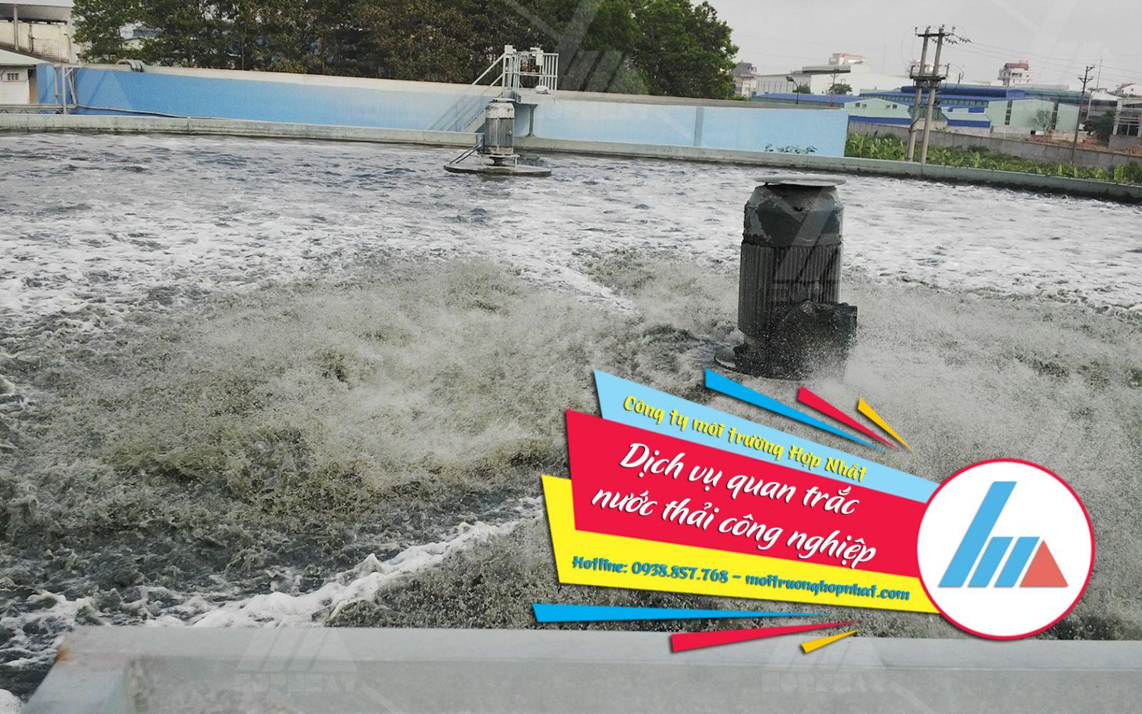 Dịch vụ quan trắc nước thải công nghiệp