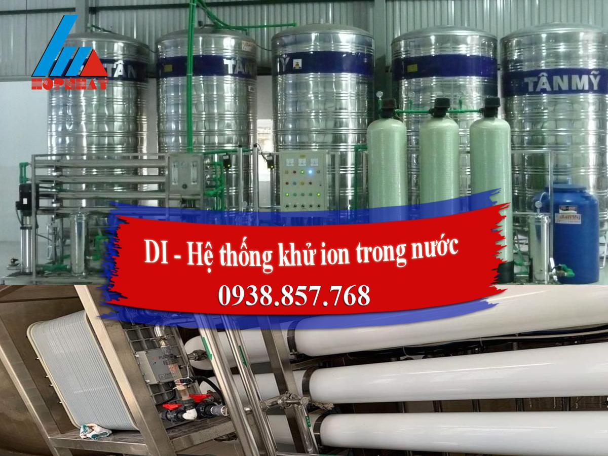 DI - Hệ thống khử ion trong nước