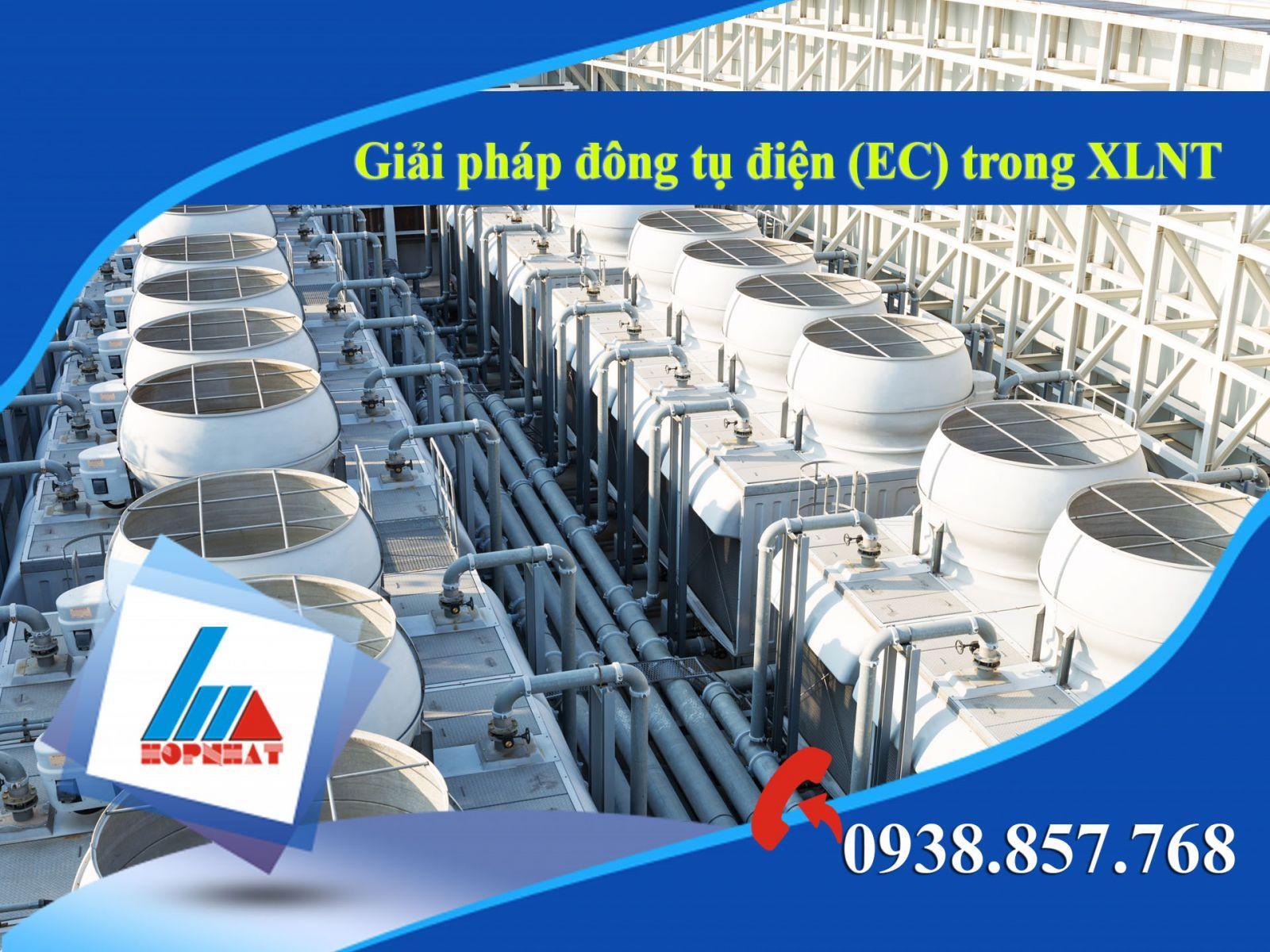 Giải pháp đông tụ điện (EC) trong XLNT
