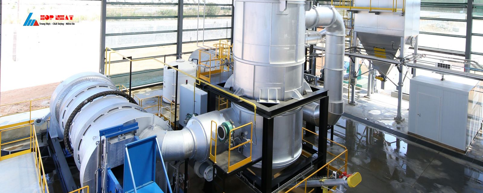 Hệ thống xử lý khí thải hơi axit