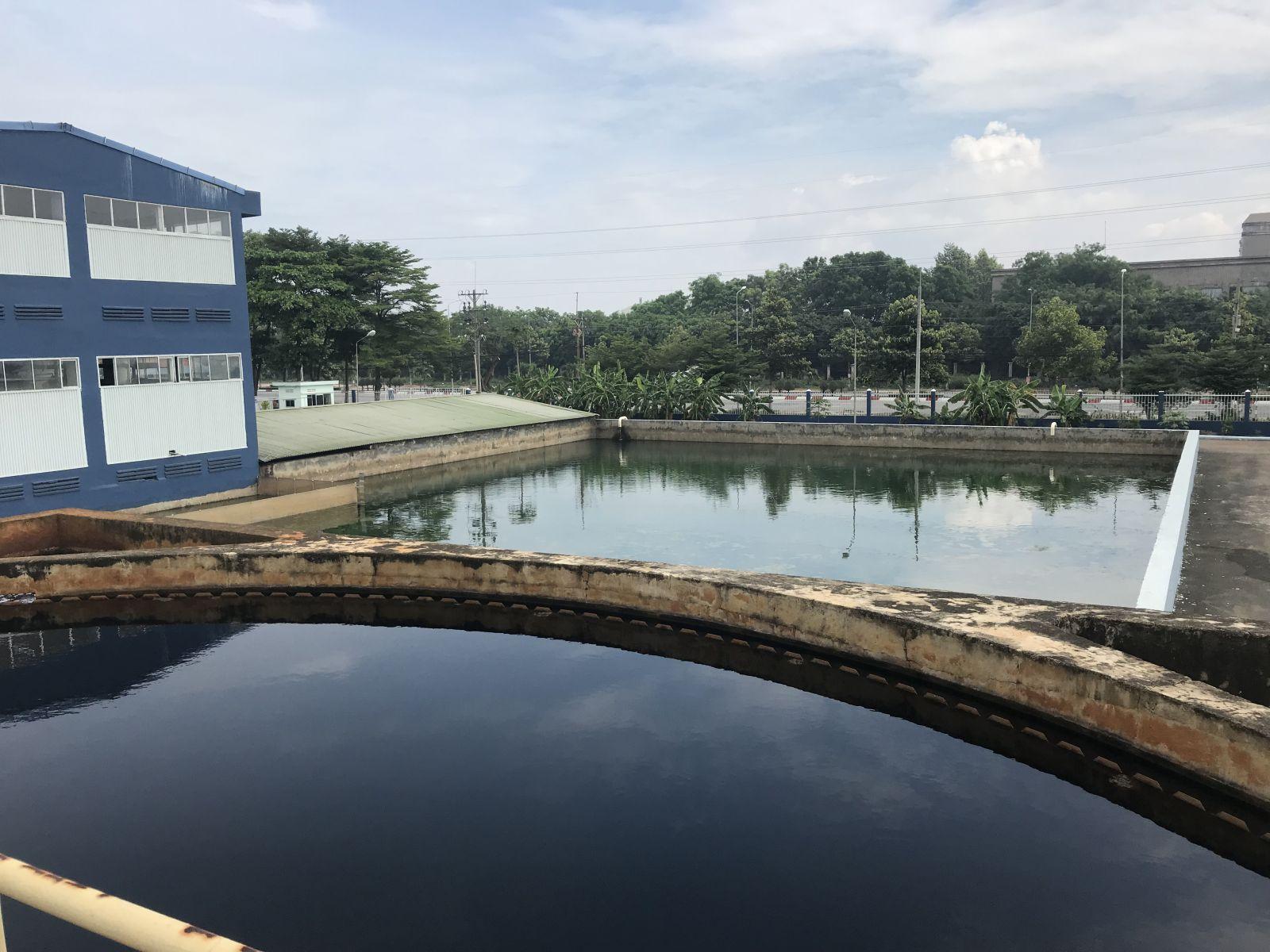 Xử lý nước thải dệt nhuộm nhà máy SYVINA ĐỒNG NAI