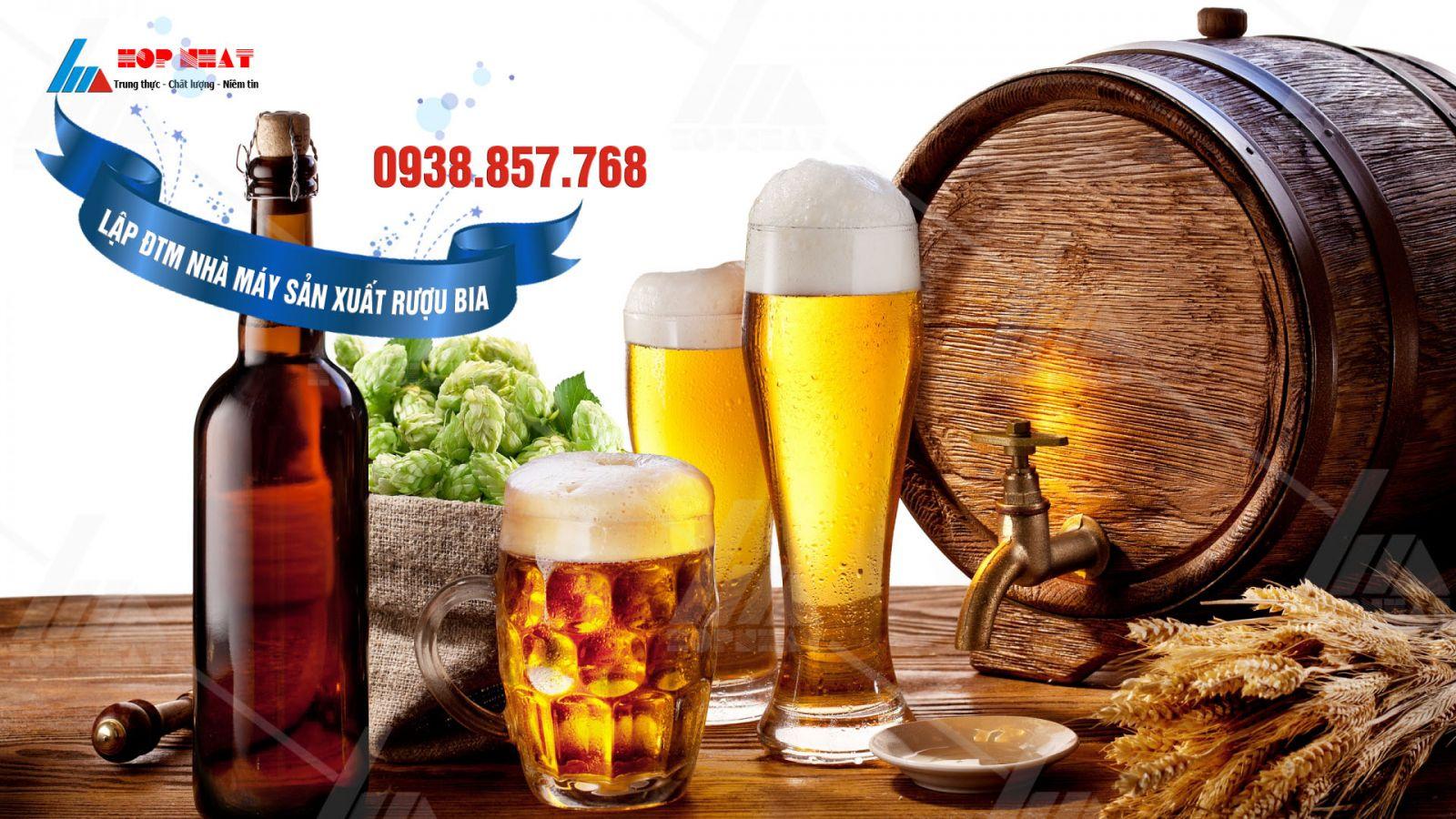 Lập ĐTM nhà máy sản xuất rượu bia