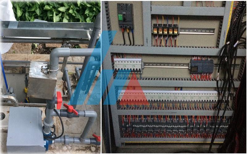 Lắp đặt hệ thống xử lý nước thải y tế Cty Tân Cảng Sài Gòn