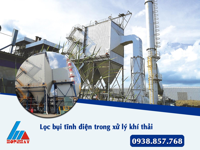 Lọc bụi tĩnh điện trong xử lý khí thải