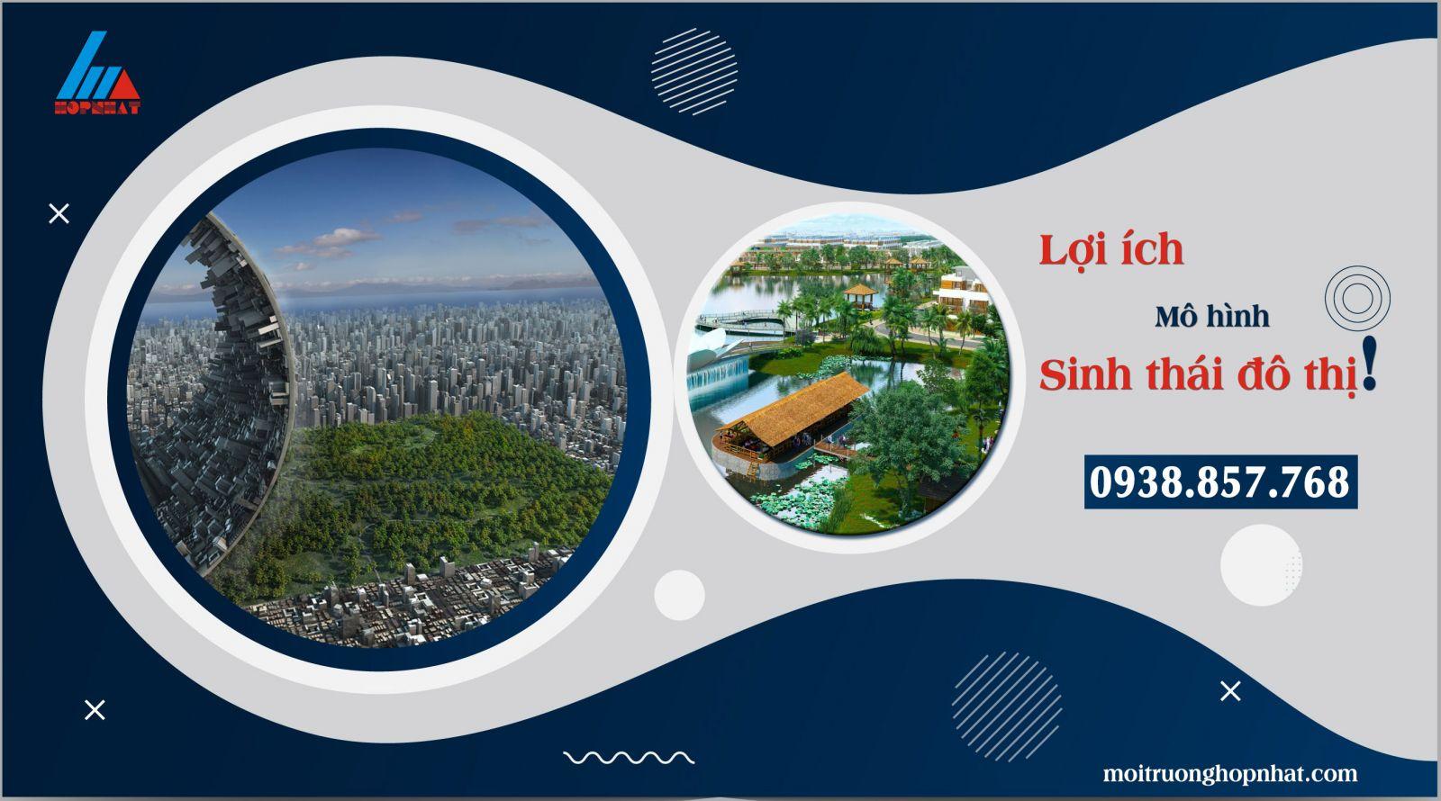 Lợi ích từ các mô hình sinh thái đô thị