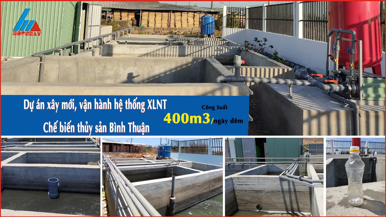 Nước thải chế biến thủy sản Bình Thuận