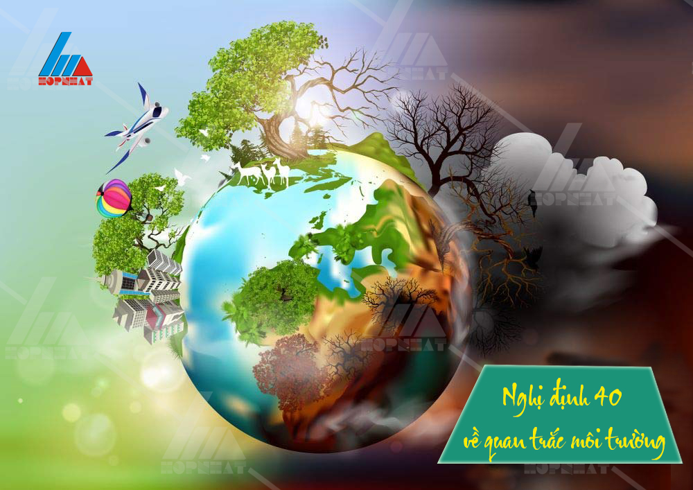 Nghị định 40 về quan trắc môi trường