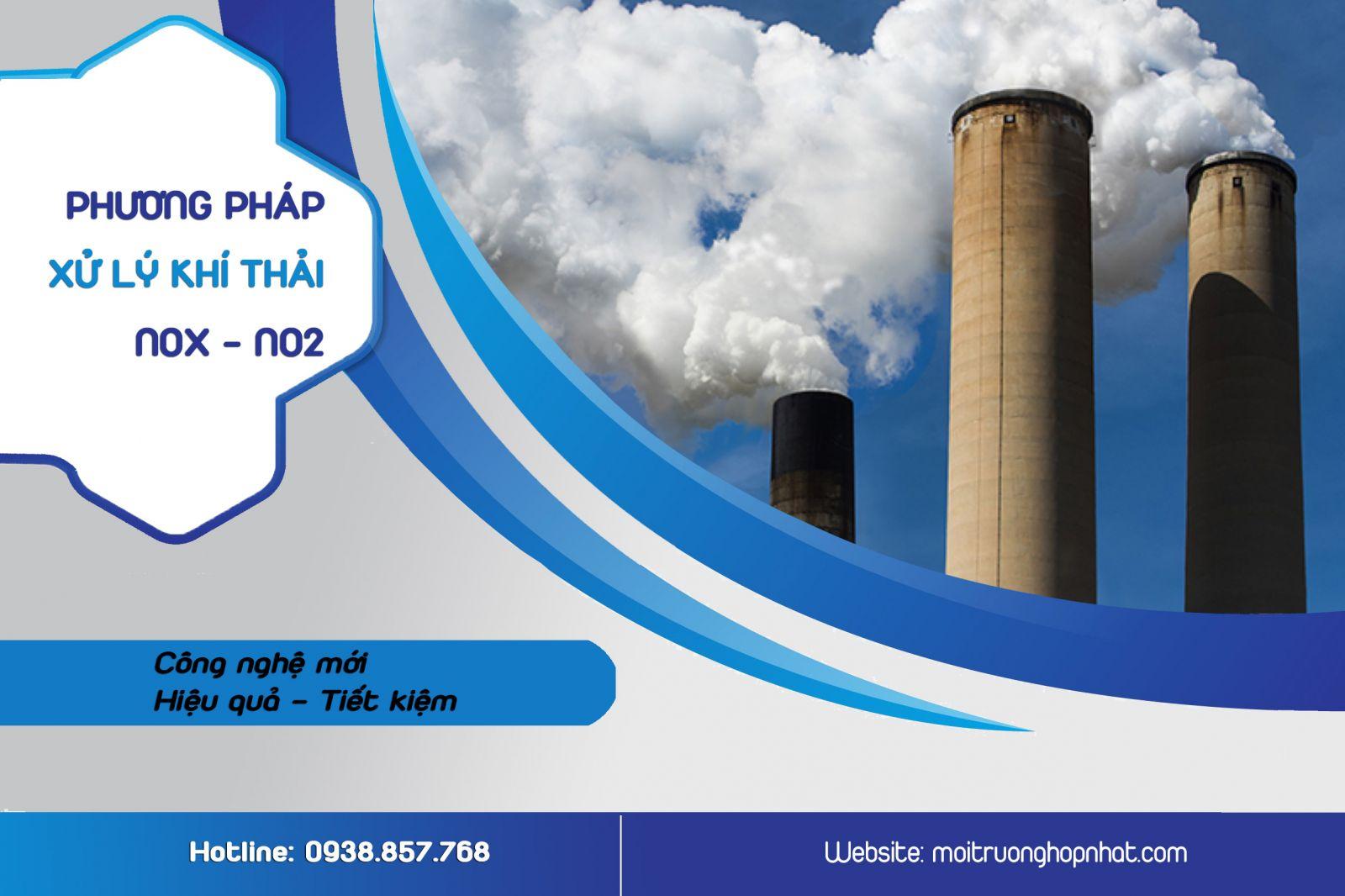 Phương pháp xử lý khí thải NOx và N02