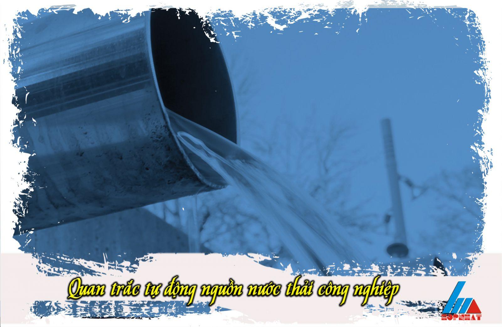 Quan trắc tự động nguồn nước thải công nghiệp