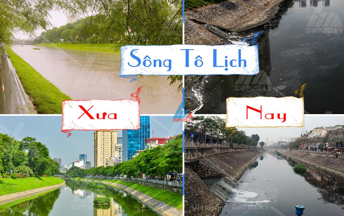 Sông Tô Lịch và những dự án hồi sinh