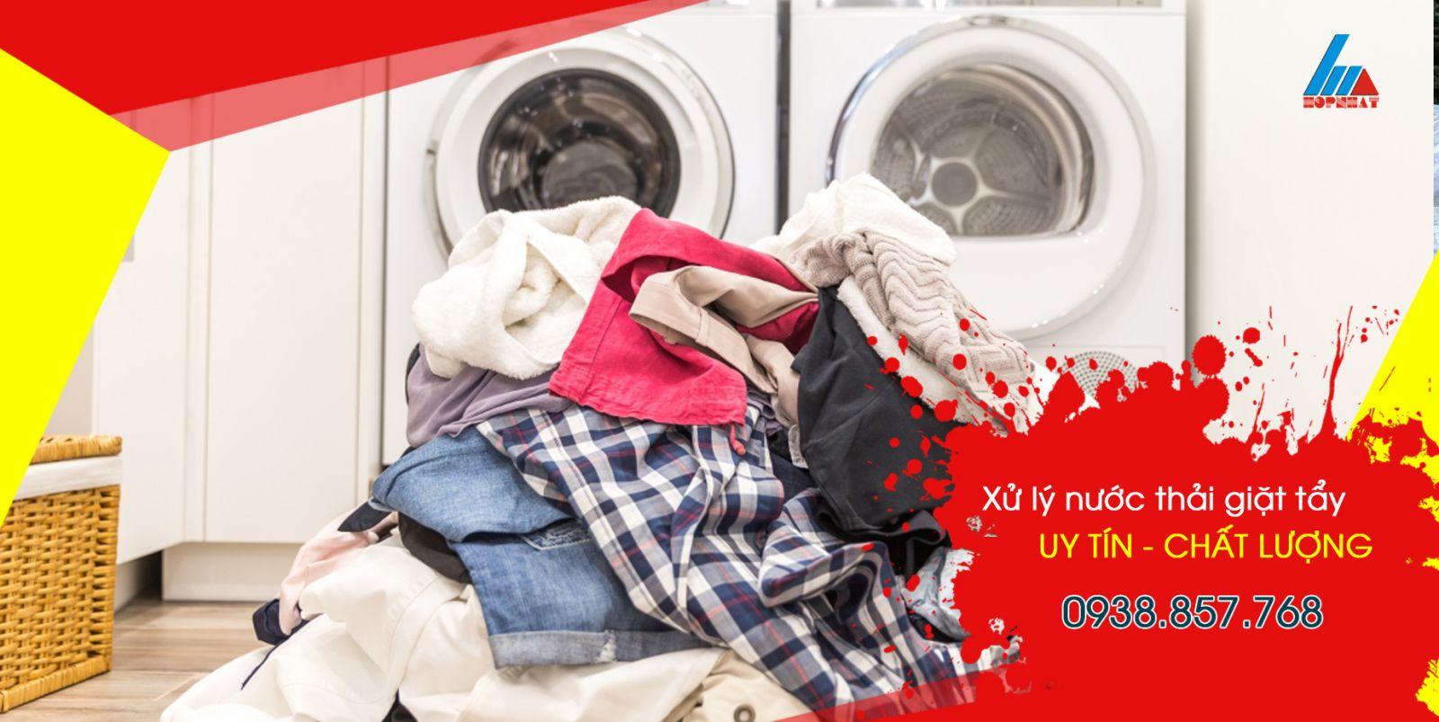 Top 3 công nghệ để xử lý nước thải giặt tẩy