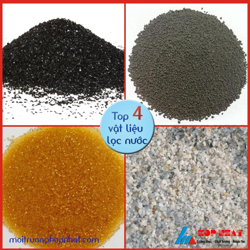 Top 4 vật liệu lọc nước tốt nhất trong nước
