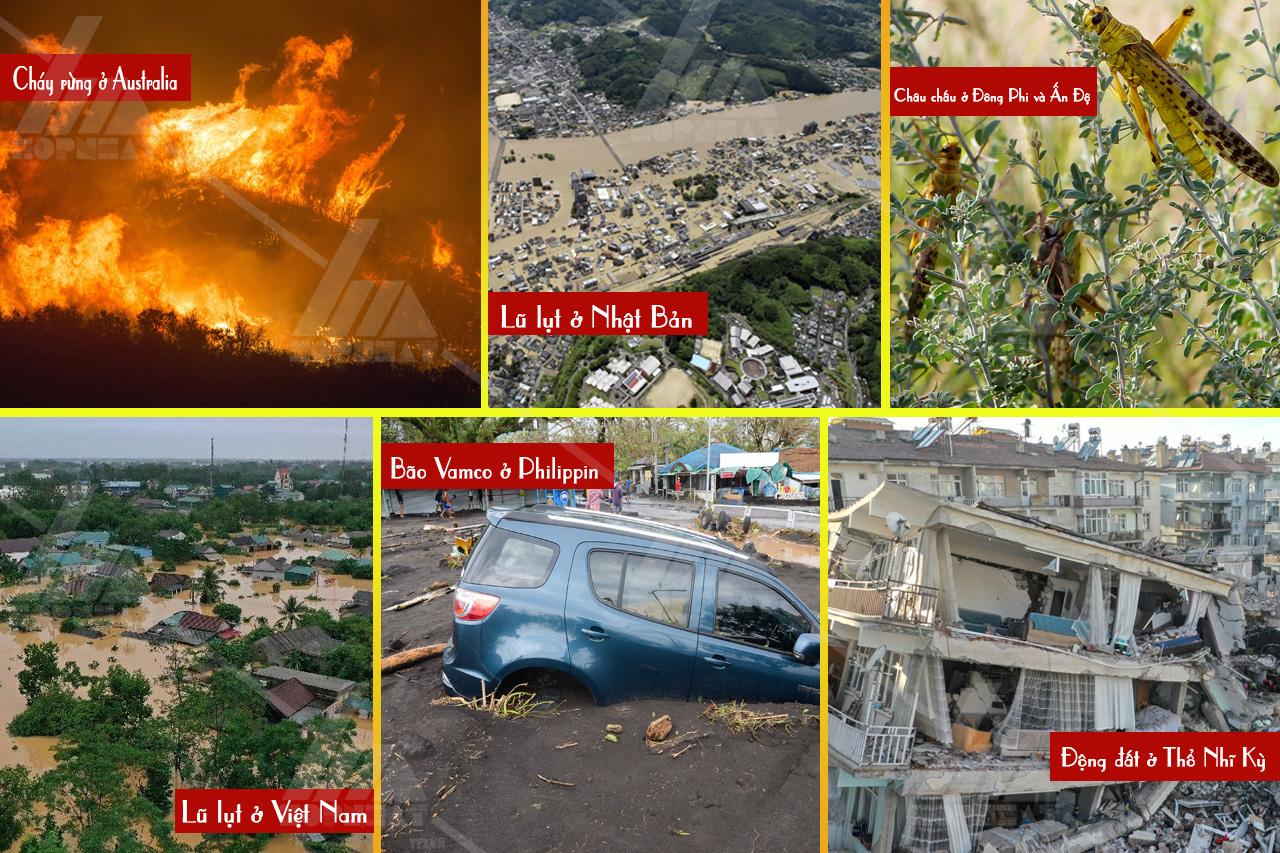 Top 6 thảm họa tàn khốc nhất năm 2020