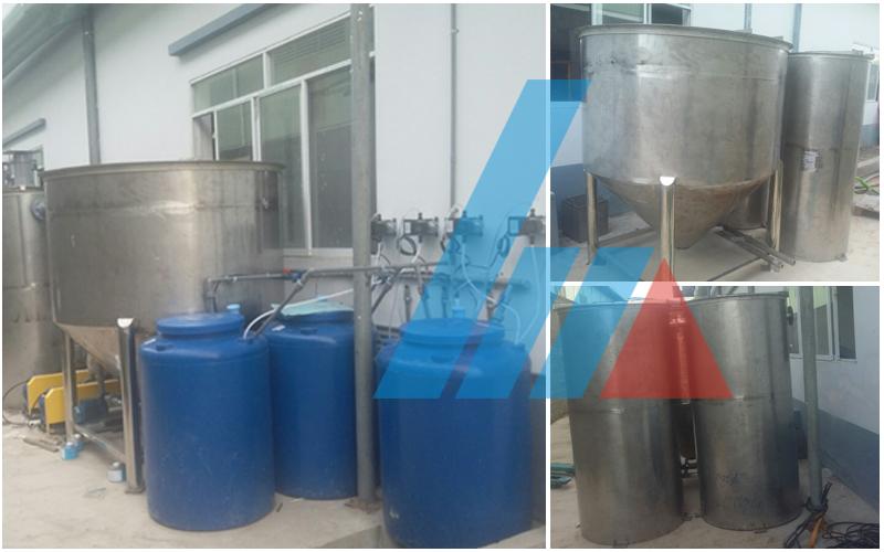 Xây dựng hệ thống xử lý nước thải sinh hoạt CTy Ri Jie