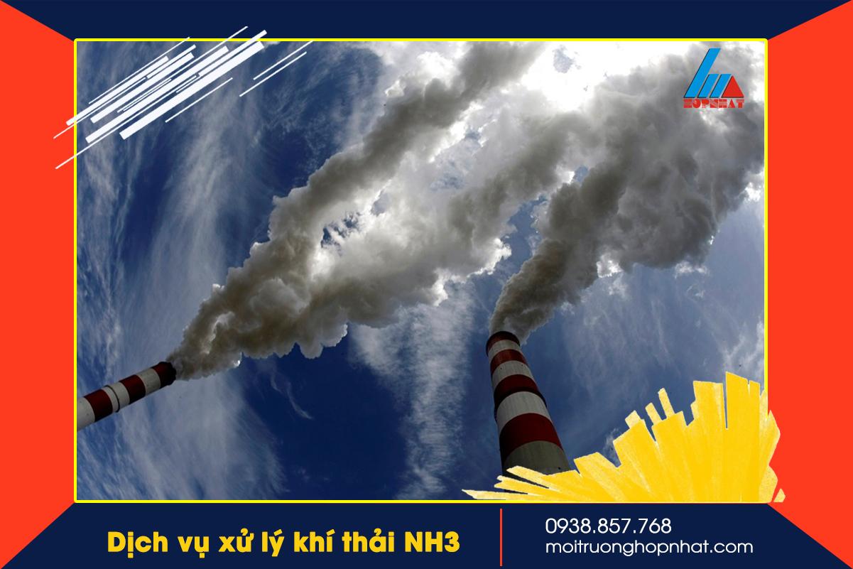 Xử lý khí thải NH3