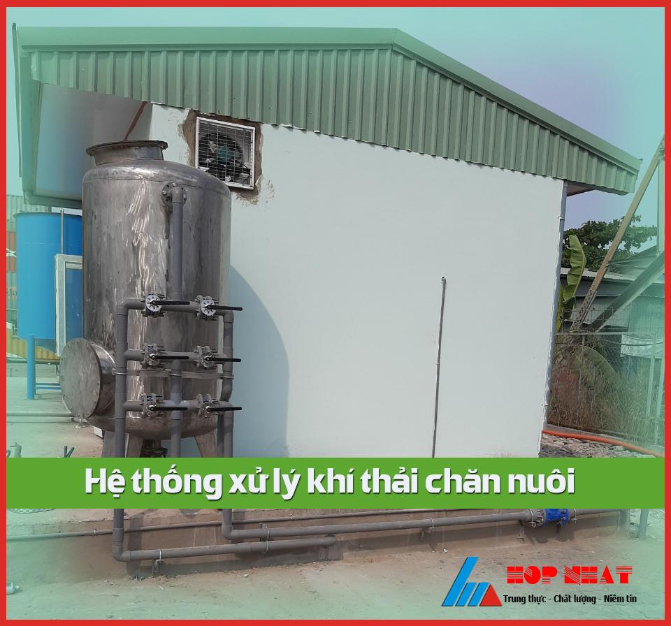 Xử lý khí thải chăn nuôi