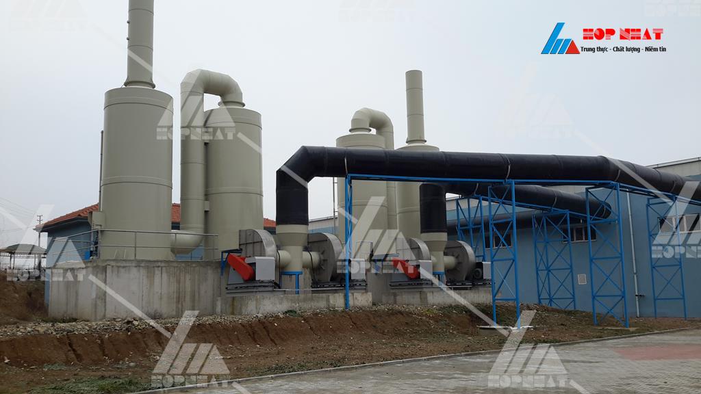 Xử lý khí thải phương pháp hấp thụ