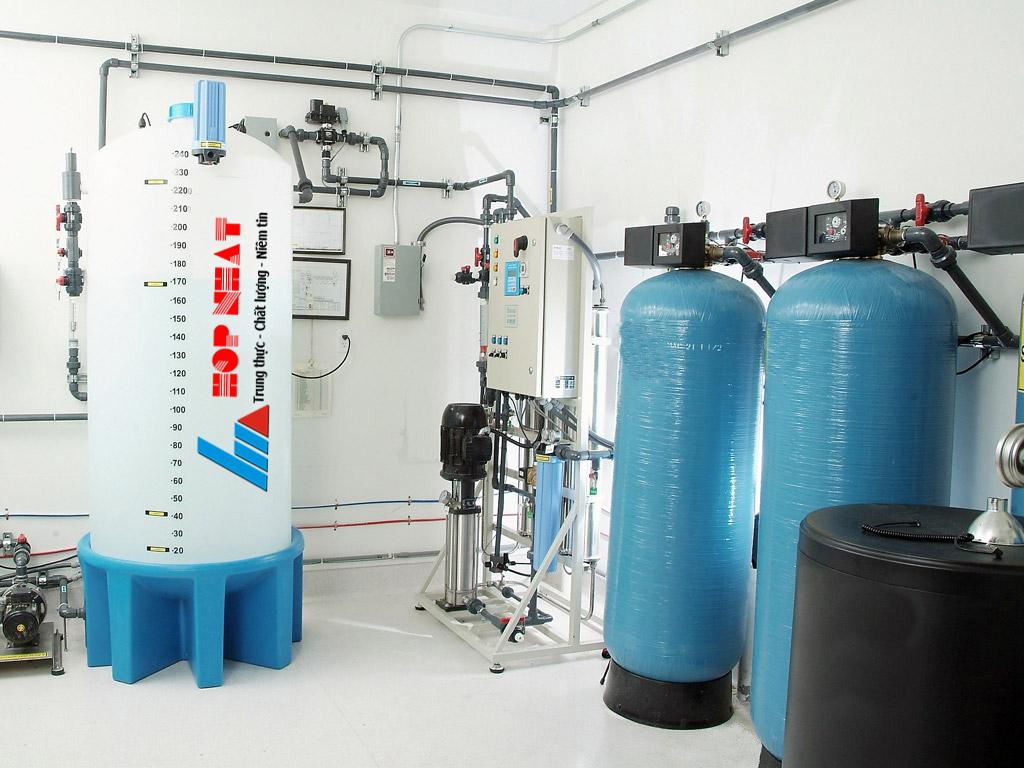 Xử lý nước cấp cho lò hơi đạt chuẩn