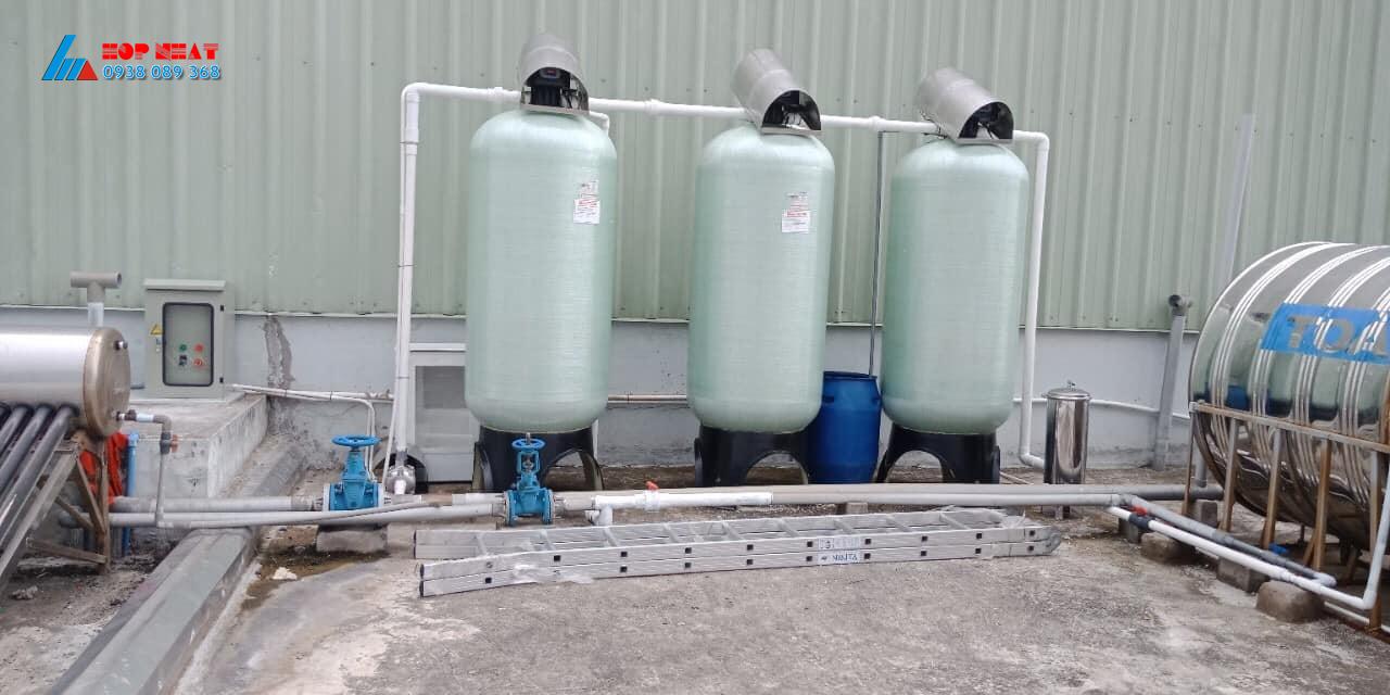Xử lý nước cấp nhiễm sắt