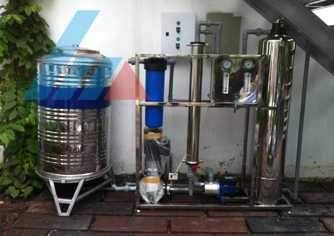 Xử lý nước thải hộ kinh doanh nha khoa Hồng Phước