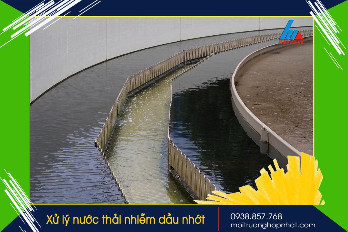 Xử lý nước thải nhiễm dầu nhớt