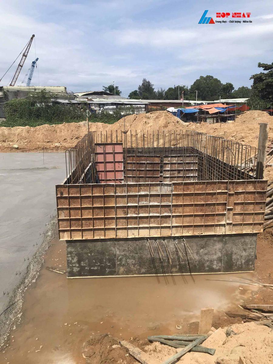 Xử lý nước thải sản xuất cảng cá Tam Quang