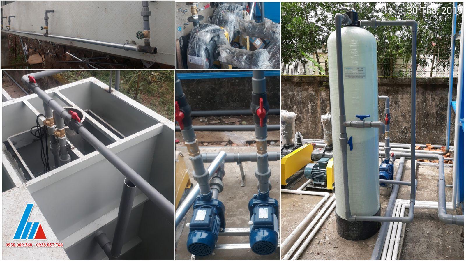 Xử lý nước thải nhà máy sản xuất bao bì TTC Tây Ninh