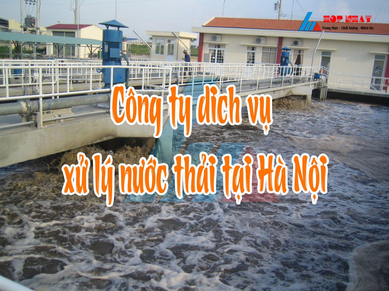 nước thải gây ô nhiễm tại Hà Nội