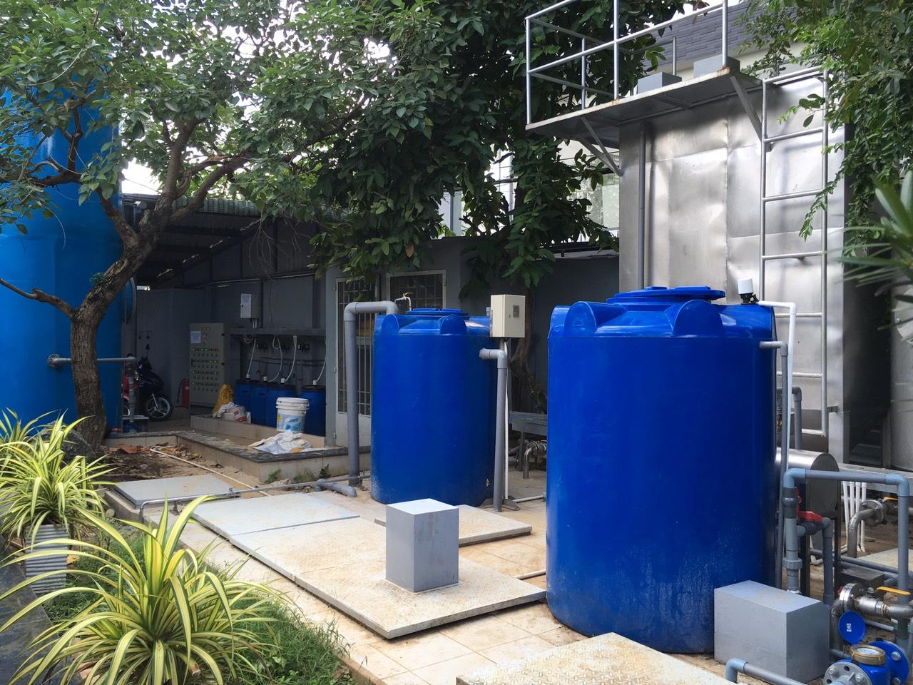 xử lý nước thải nhà máy chế biến nước mắm Liên Thành