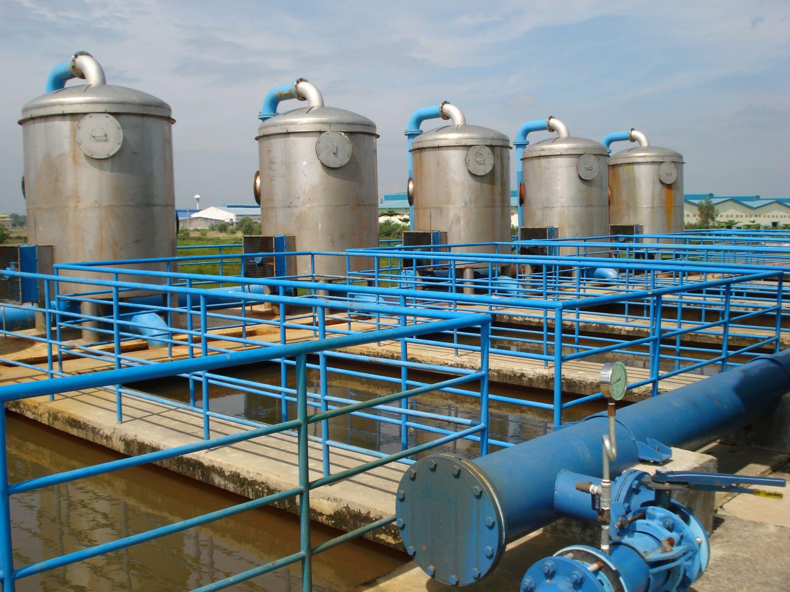 xử lý nước thải công suất 40m3 Cty Ortholite Việt Nam
