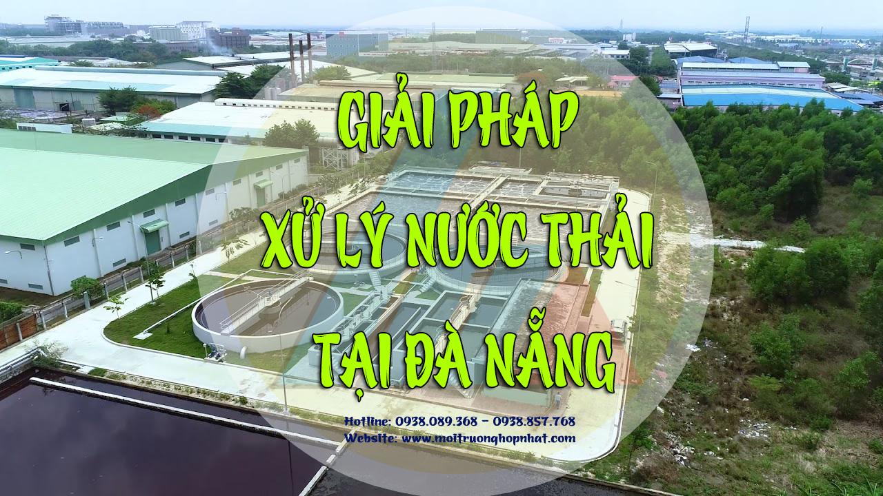 giải pháp xử lý nước thải tại Đà Nẵng