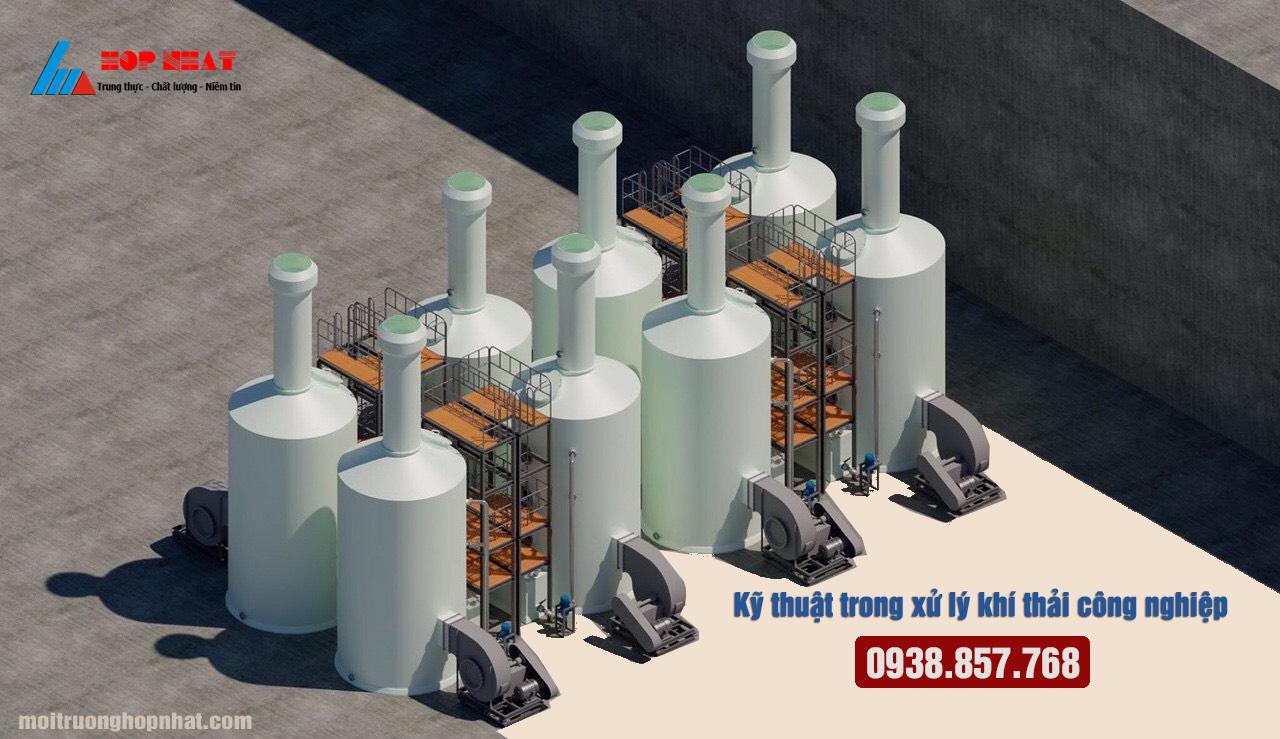 kỹ thuật trong xử lý khí thải công nghiệp