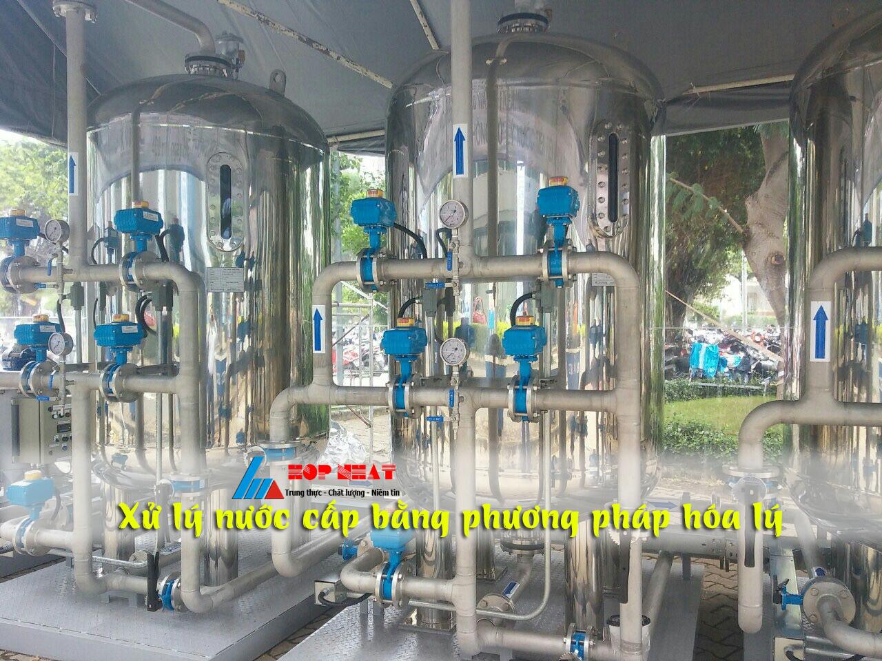 phương pháp xử lý nước cấp