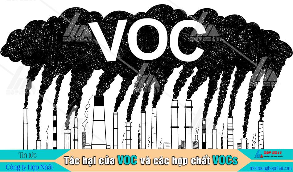 tác hại của VOC và VOCs