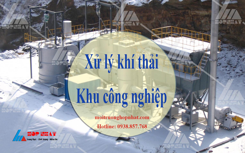 xử lý khí thải khu công nghiệp