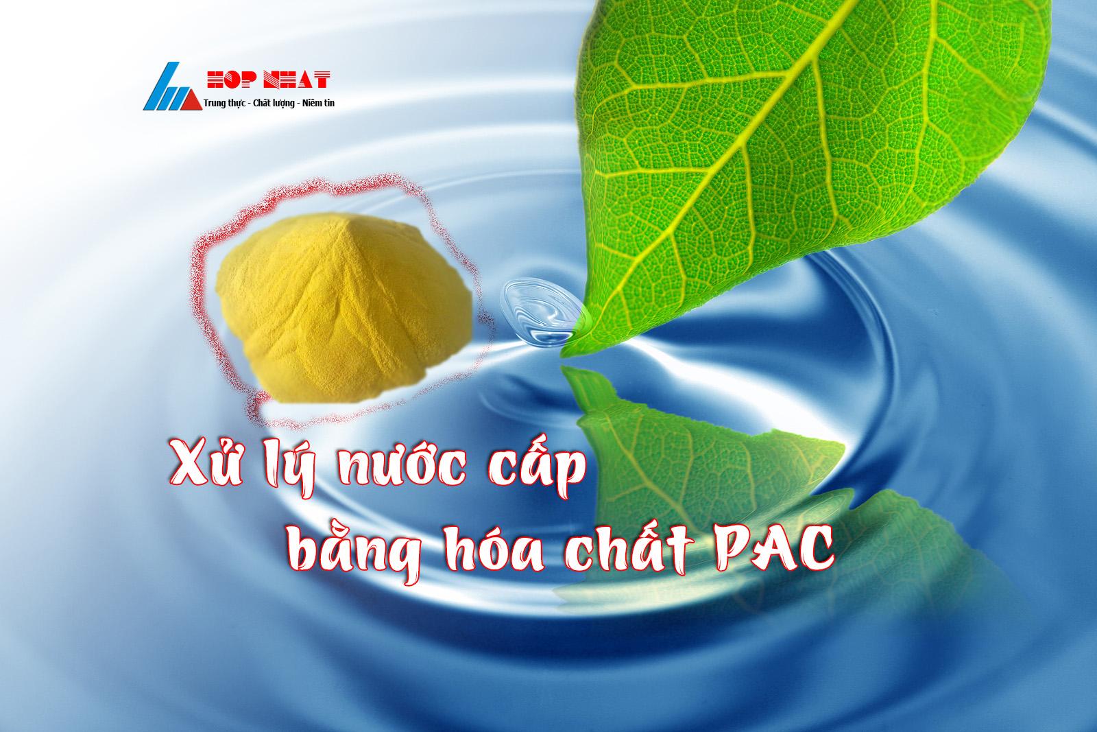 xử lý nước cấp bằng PAC