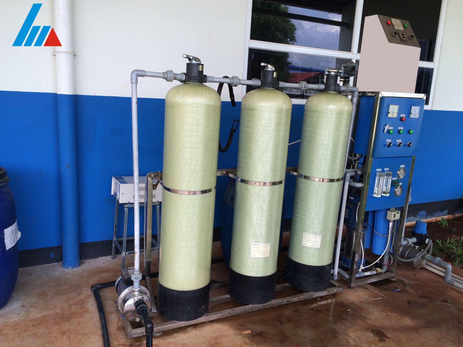 Xây dựng hệ thống xử lý nước thải nha khoa cơ sở Phú Mỹ